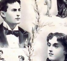 Houdini Metamorphosis Vintage Advertisement Sticker