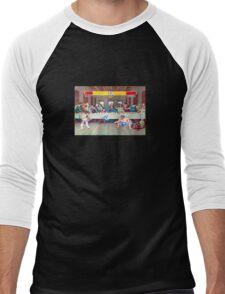Dinner Theatre Men's Baseball ¾ T-Shirt