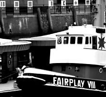 Fairplay VIII tied up by Domenic Herberz