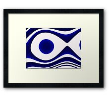 Oceana Blue  Framed Print