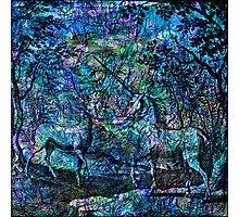 "Alchemical Secrets - ""The Stag And The Unicorn"" Photographic Print"