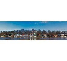 Boathouse Row Photographic Print