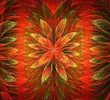 Orange Blooms Delight by Beatriz  Cruz