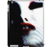 TELEVISION SUCCUBUS - ORIGINAL PHOTOGRAPHY iPad Case/Skin