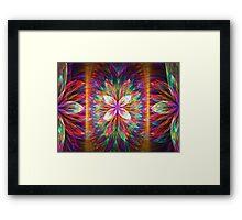 Colorful Blooms Delight  Framed Print