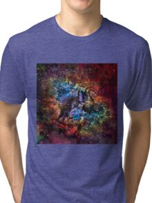 When The Stars Are Right - The Crab Nebula in Taurus Tri-blend T-Shirt