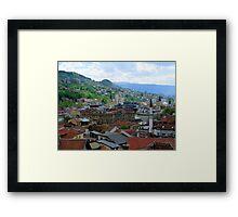Old Town of Sarajevo II Framed Print