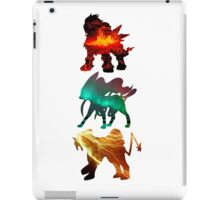 the legendary trio (beasts) iPad Case/Skin