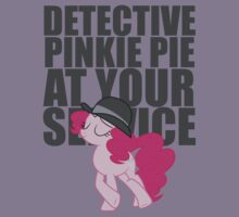 Detective Pinkie Pie at Your Service by Casteal