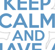 Keep Calm and Have A Magical Day Sticker