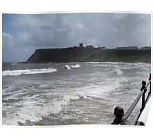 Seafront - Scarborough Poster