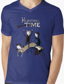 Hunting Time. Mens V-Neck T-Shirt