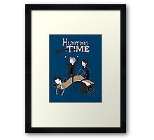 Hunting Time. Framed Print