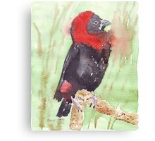 The Red Bishop 2 Canvas Print