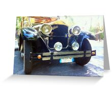Old Auto Greeting Card