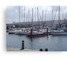 Boats Canvas Print