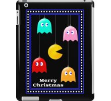 Merry Christmas Pacman Baubles! iPad Case/Skin