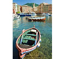 Camogli Oil 2 Photographic Print
