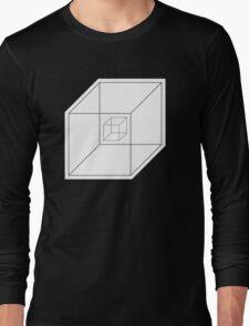 BEWARE HYPNO-CUBE! Long Sleeve T-Shirt