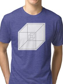 BEWARE HYPNO-CUBE! Tri-blend T-Shirt