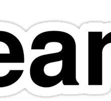 beans Sticker