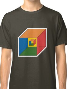 BEWARE HYPNO-CUBE color version Classic T-Shirt