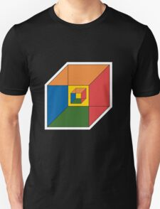 BEWARE HYPNO-CUBE color version T-Shirt