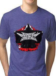 BABYMETAL - SKELETON HOODIE Tri-blend T-Shirt