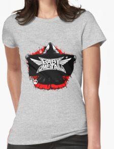 BABYMETAL - SKELETON HOODIE Womens Fitted T-Shirt