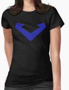 Nightwing Costume Womens Fitted T-Shirt