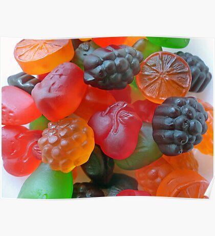 Gummy Fruit  Poster