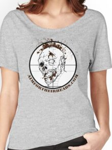 Aim For Their Heads - Zed Shot Women's Relaxed Fit T-Shirt