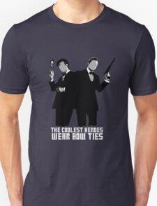 The Coolest Heroes Wear Bow Ties Unisex T-Shirt