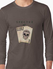 spectre 007 skull logo 2 Long Sleeve T-Shirt