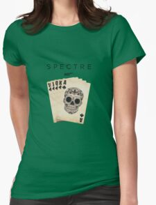 spectre 007 skull logo 2 Womens Fitted T-Shirt