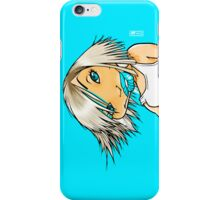 Blue Girl in Blue iPhone Case/Skin