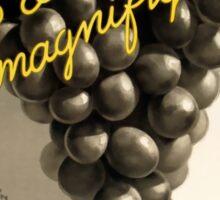 Soufre Gre Bordeaux Grapes Vintage Advert Sticker