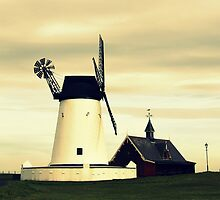 Lytham windmill by seanwareing