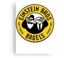 Every Day Einstein Bagel Canvas Print