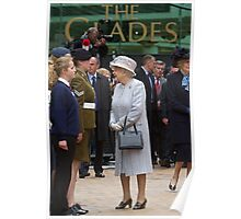 The Queen in Bromley, Kent Poster