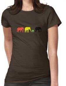 Rasta Eles Womens Fitted T-Shirt