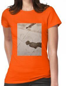 Shadows Meet Womens Fitted T-Shirt