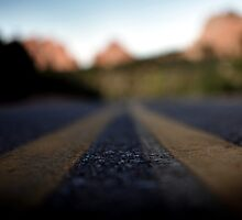 Garden of the Gods Road by Jessica Farkas