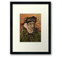 Van Gogh Fish Framed Print