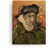 Van Gogh Fish Canvas Print