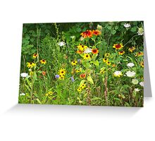 Wildflower Garden Greeting Card