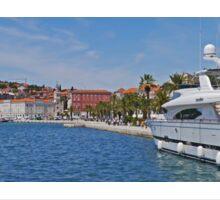 Waterfront at Split, Croatia (Panorama) Sticker