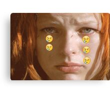 Leeloo Sad Canvas Print