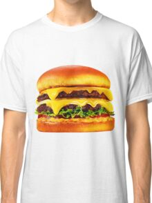 Double Cheese Burger Classic T-Shirt