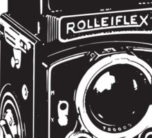 Camera: Rolleiflex Sticker